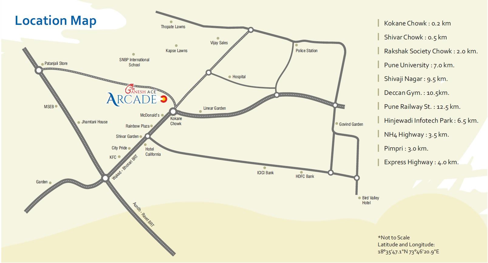 Ganesh-ace-arcade-location