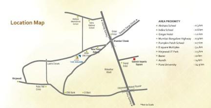 Shree Ganesh TIME SQUARE Map